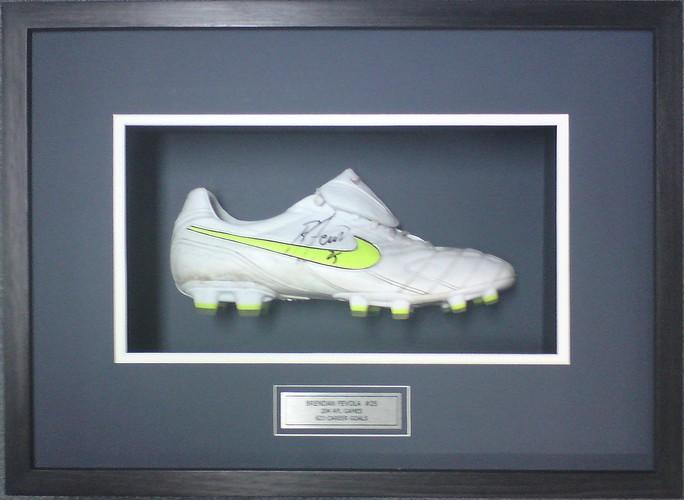 Brendan Fevola's Football Boot Picture Framing