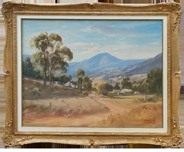 Gilded Ornate Frame