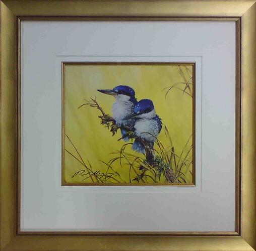 Paul Margoscy - Kingfisher Painting Framed